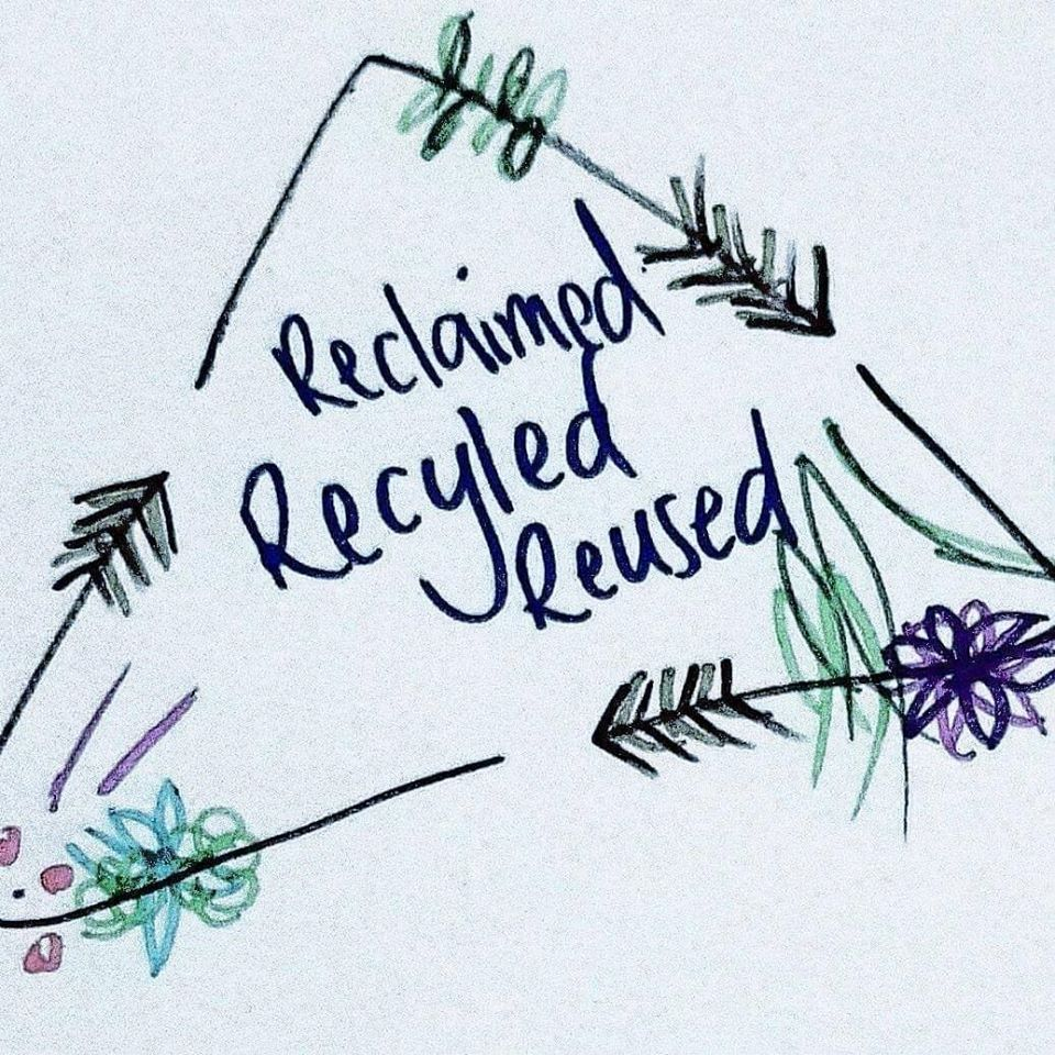 Reclaimed Recycled Reused